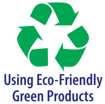 Using eco-friendly Green Products